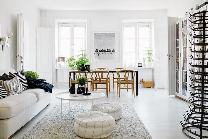 5 Brickell Collection Modern Funriture Modern Loft Y Wishbone Wood Chair