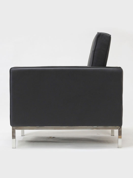 Bateman Leather Armchair Modern Furniture Brickell