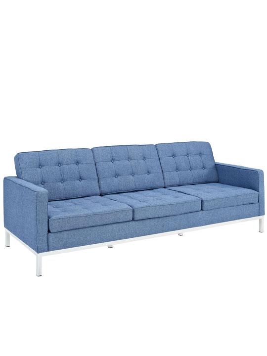 Bateman Blue Wool Sofa 2