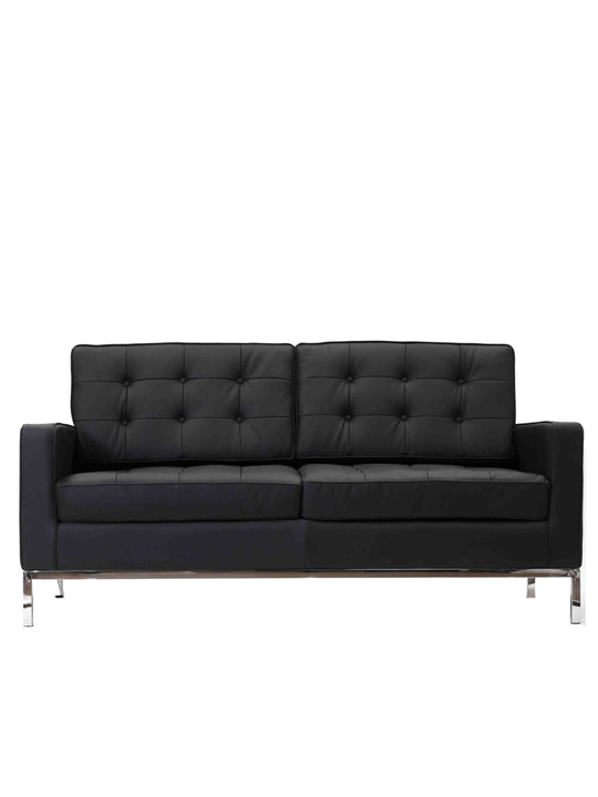 Bateman Leather Loveseat