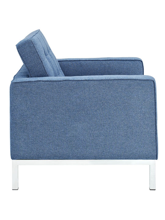 Bateman Wool Armchair Blue 2