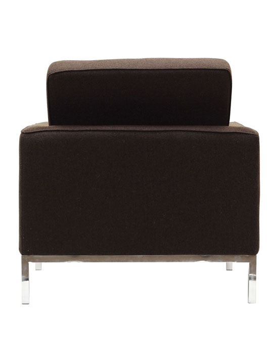 Bateman Wool Armchair Brown 2