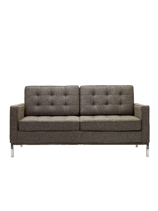 Bateman Wool Love Seat
