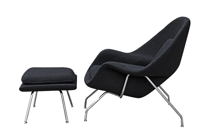 Black BookNook Lounge Set 4