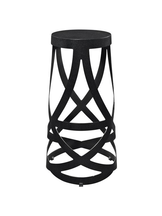 Black Streamer Barstool