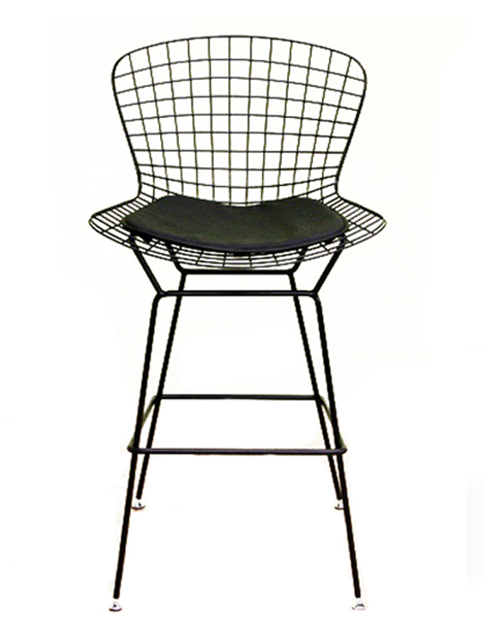 Black Wire Barstool