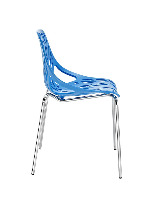 Blue Branch Chair 2