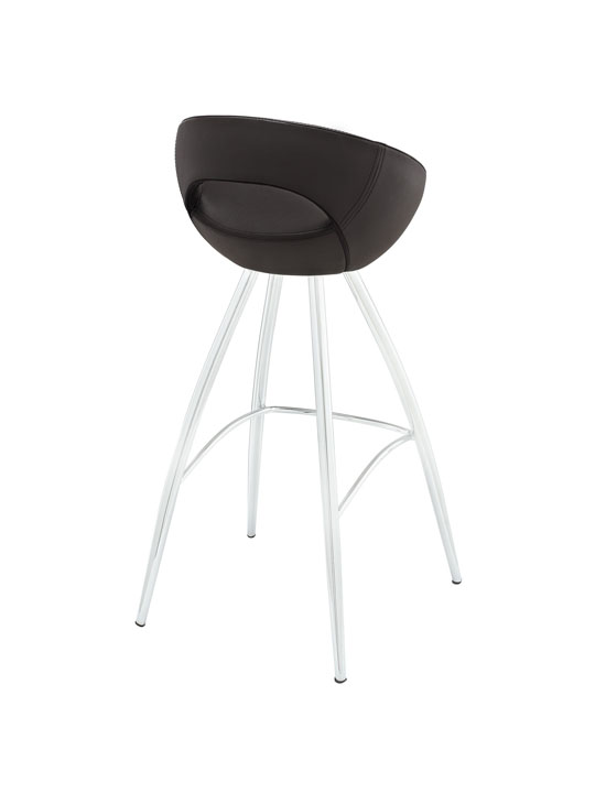 Brown Flower Pot Barstool 3
