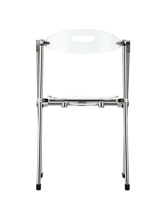 Clear Acrylic Folding Chair 4