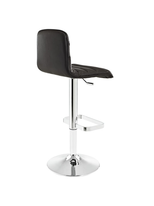 Cloud Brown Leather Barstool 3