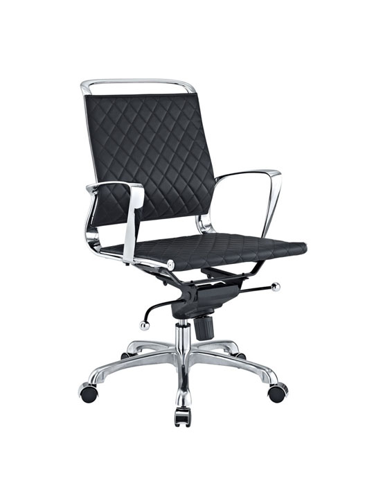 Coco Low Back Leather Office Chair