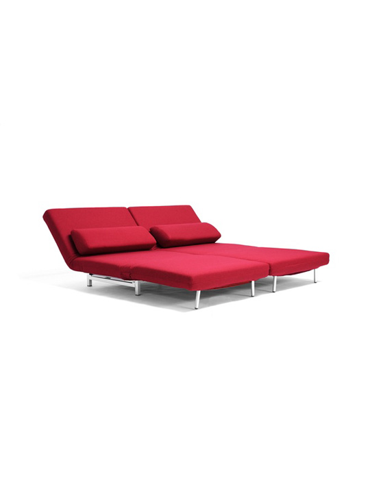 Crema Sofa Bed Red 1