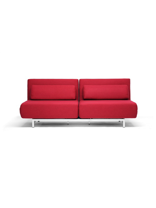 Crema Sofa Bed Red 2