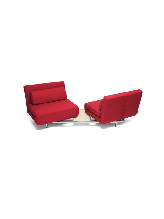 Crema Sofa Bed Red 3
