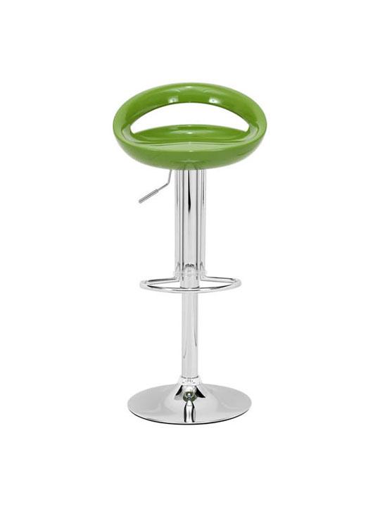 Green Slot Barstool 3