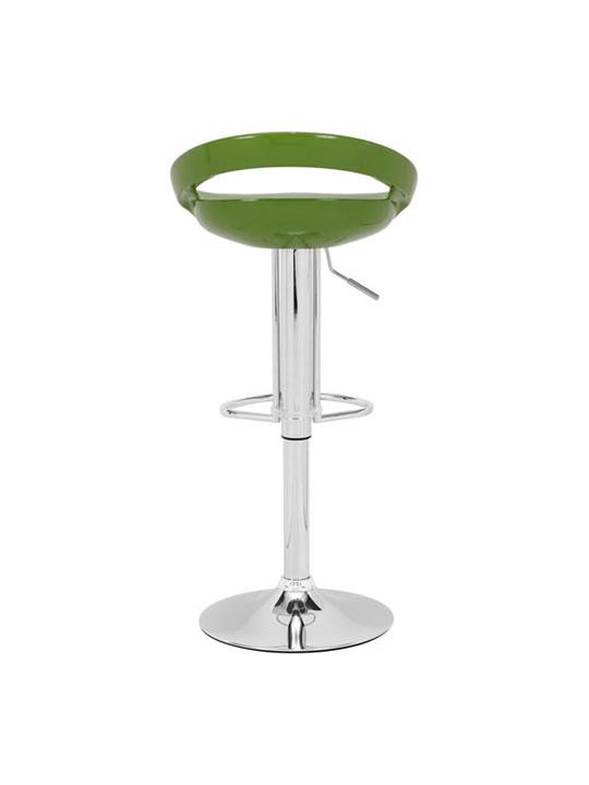 Green Slot Barstool 4
