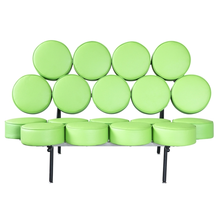 Green Spherical Sofa