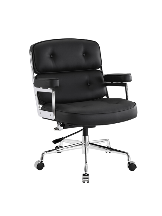 Instant Collaborator Leather Office Chair