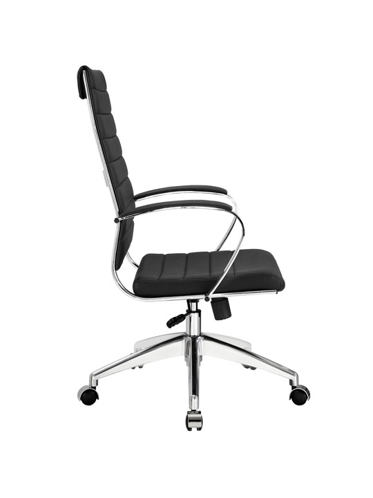 Instant Operator Office Chair Black Leather 2