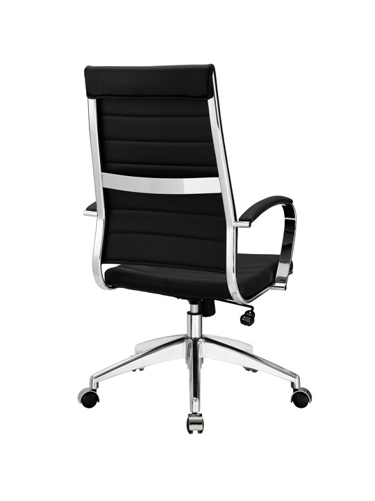 Instant Operator Office Chair Black Leather 3