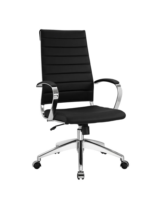Instant Operator Office Chair Black Leather
