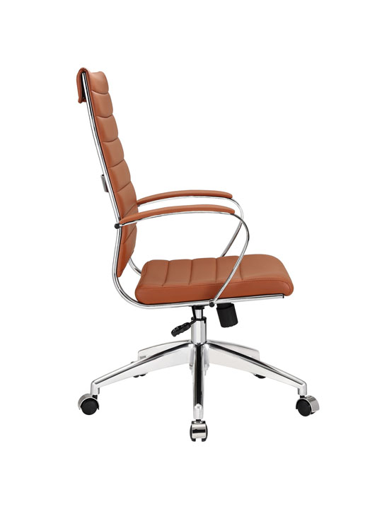 Instant Operator Office Chair Tan Leather 2