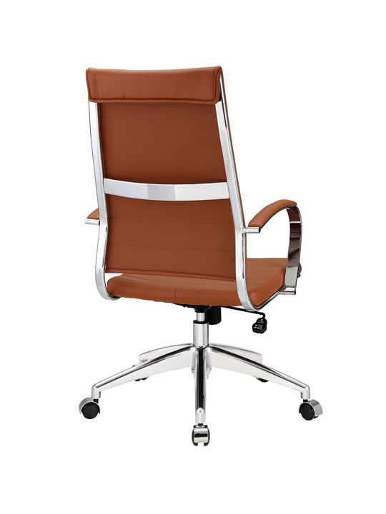 Instant Operator Office Chair Tan Leather 3