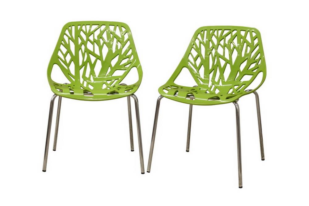 Life Chair Green 2 Set