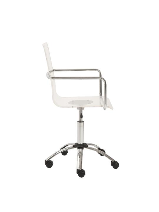 Lucid Clear Office Chair 3 1