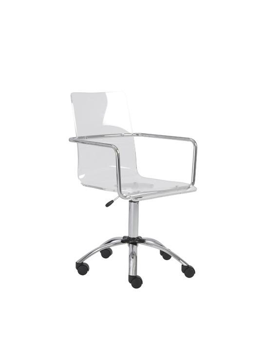 Lucid Clear Office Chair 6