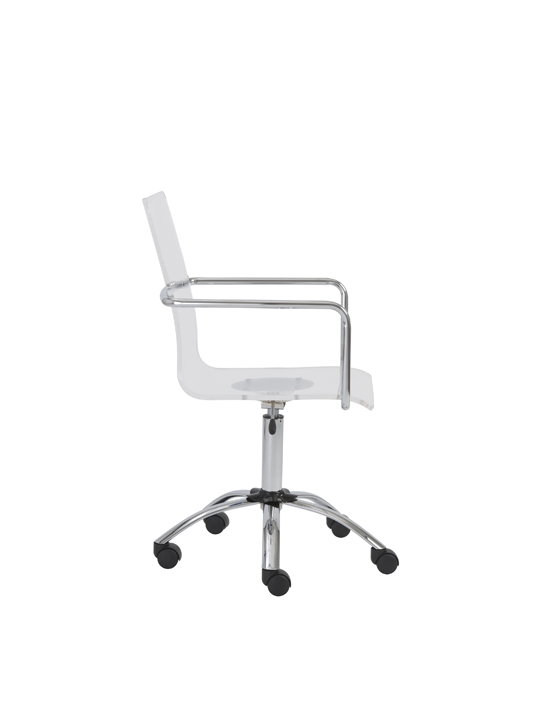 Lucid Clear Office Chair 7