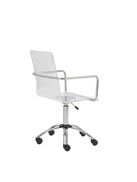 Lucid Clear Office Chair 8