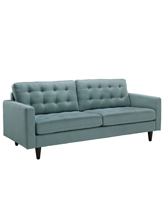 Mint Blue Bedford Sofa