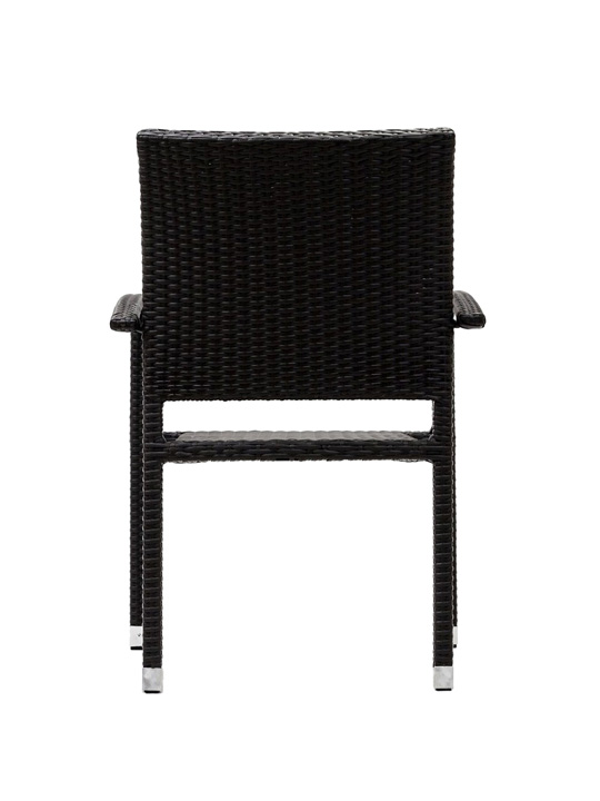 Moda Wicker Chair Espresso 3