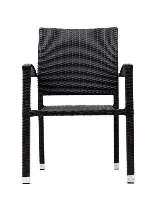 Moda Wicker Chair Espresso 4