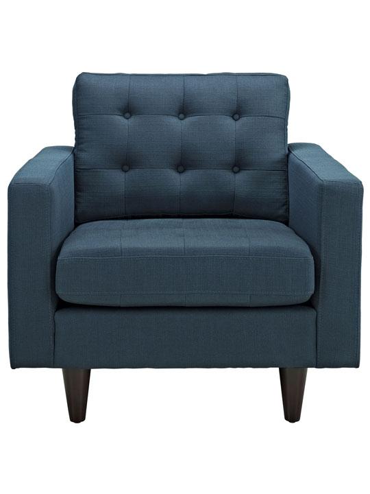 Ocean Blue Bedford Armchair 2