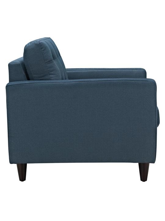 Ocean Blue Bedford Armchair 3