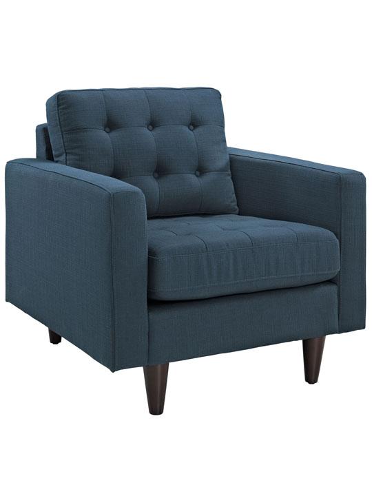 Ocean Blue Bedford Armchair