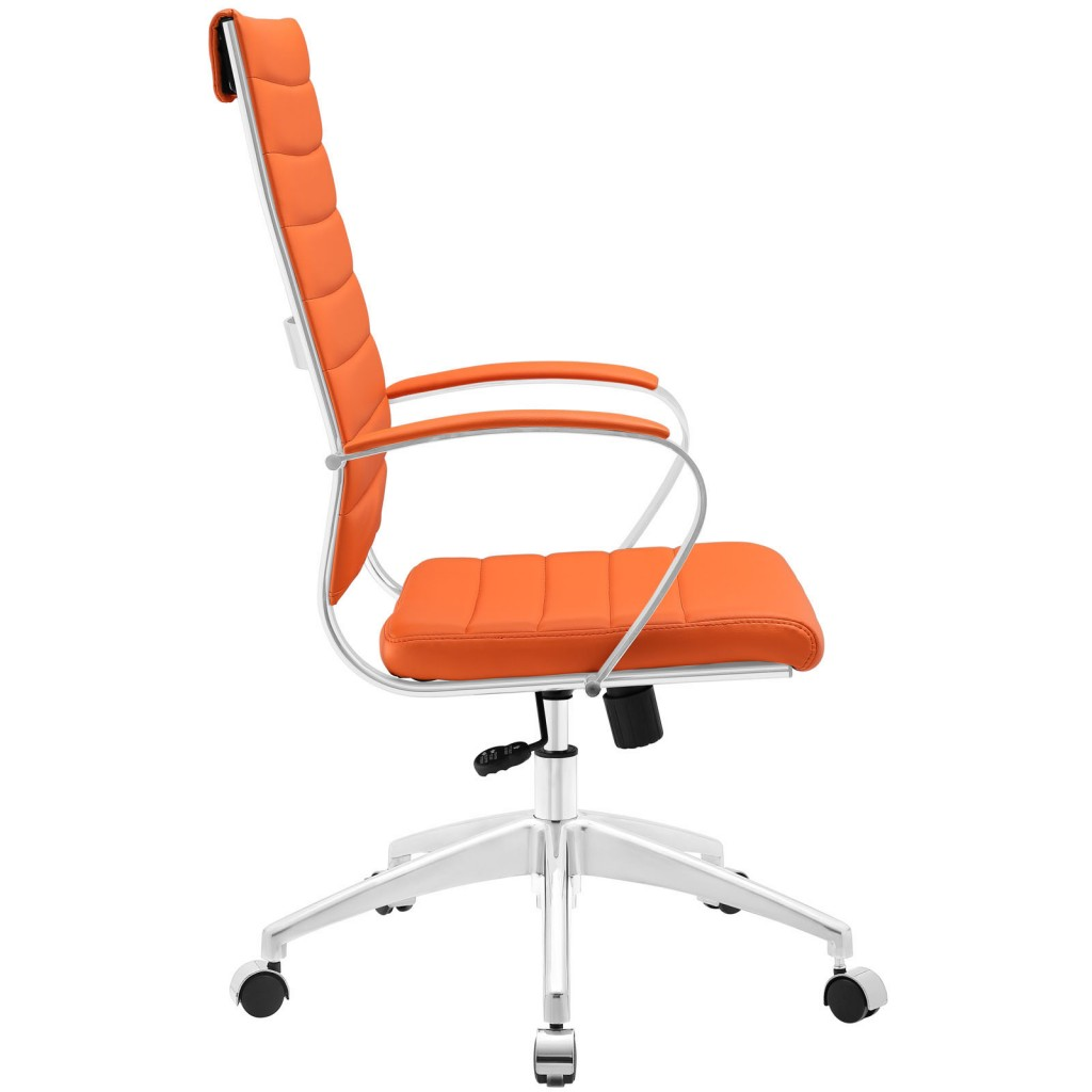 Orange Instant Operator Office Chair 2