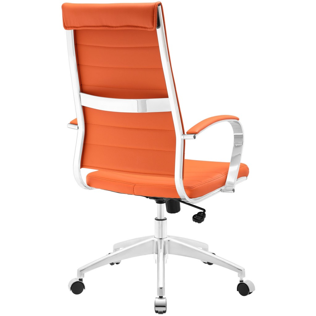 Orange Instant Operator Office Chair 3