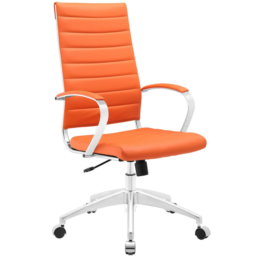 Orange Instant Operator Office Chair