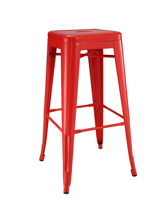 Red Tonic Barstool 3