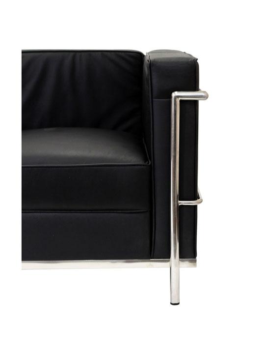 Simple Sofa Black Medium 2