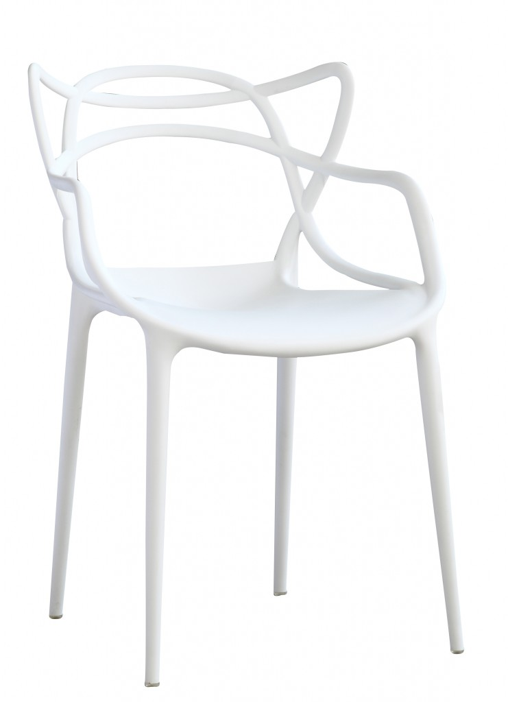 Spark Chair White1