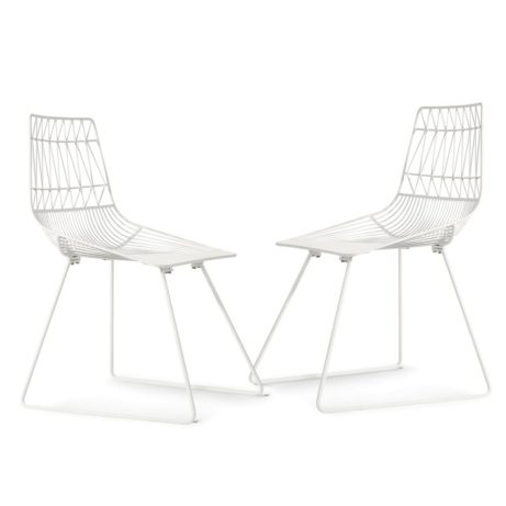 Symmetric Chair white wire 1 461x461