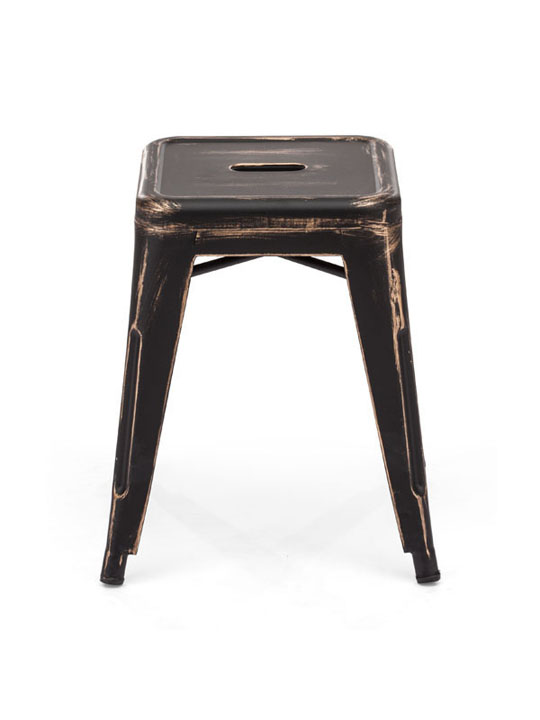 Tonic Midi Stool Distressed Black