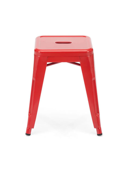 Tonic Midi Stool Red 2