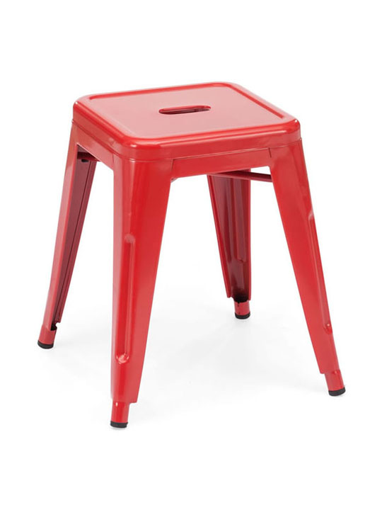 Tonic Midi Stool Red