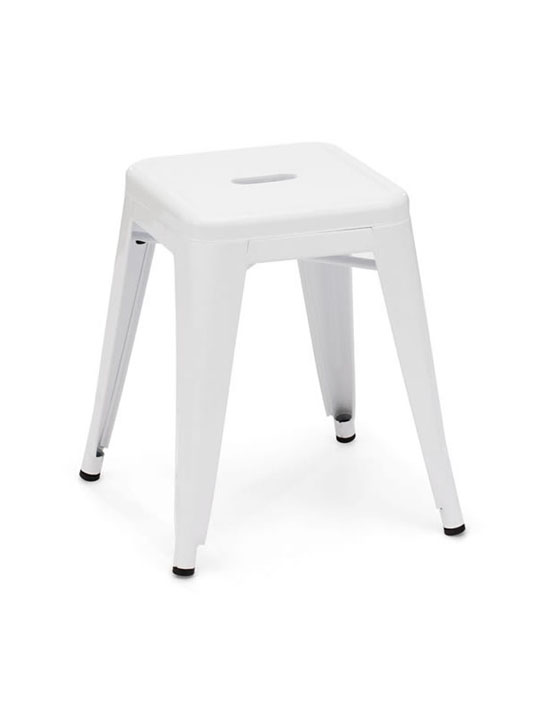 Tonic Midi Stool White