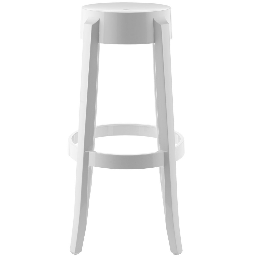 Clear Acrylic Barstool Brickell Collection Modern Furniture